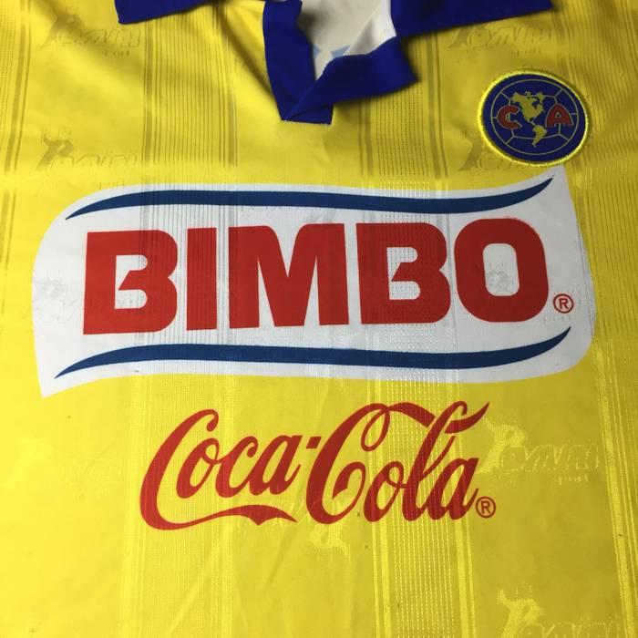Corona Mens Club America Bimbo Coca Cola Corona Jersey Soccer Football Size  XL Size US XL b34e3fa7d