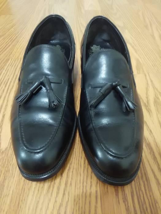 Johnston Murphy Johnston Murphy Aristocraft Black Tassel Loafers