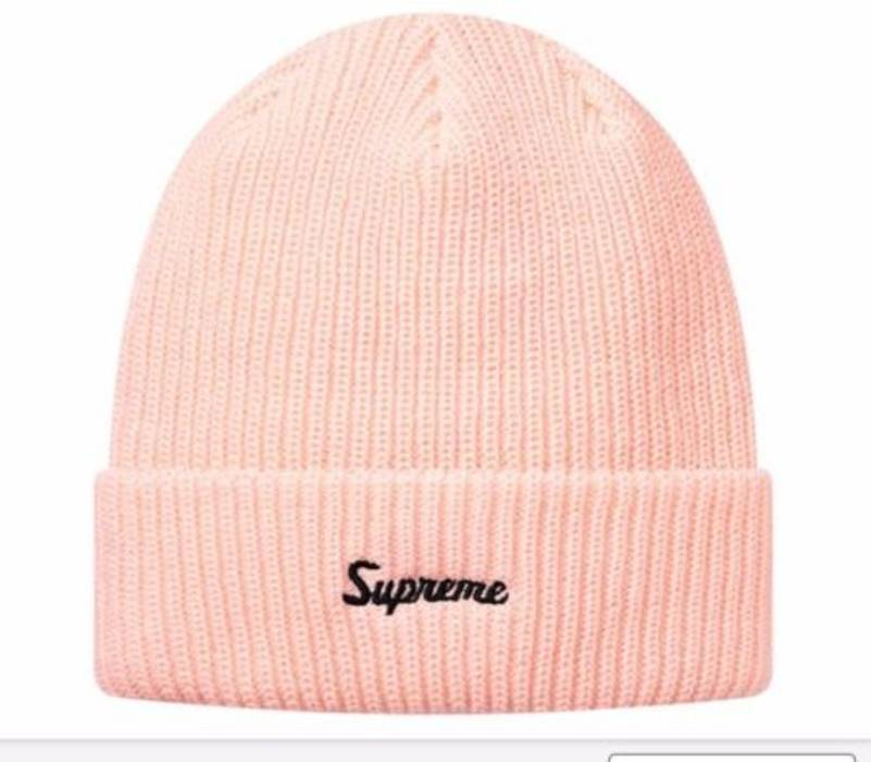 64a4d635c6a Supreme Loose Gauge Beanie - PINK Size one size - Hats for Sale ...