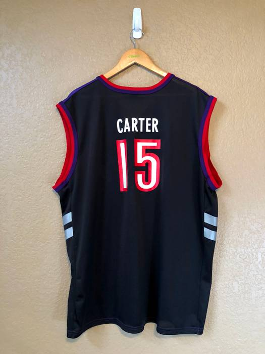 0d78a87ef Vintage 2000s Vince Carter Toronto Raptors Jersey Size US XL   EU 56   4 -