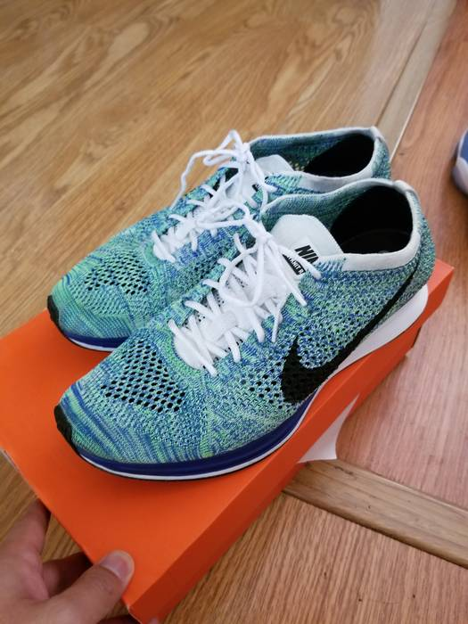 1cb3a9bb27cc Nike Nike Flyknit Racer Size 9.5 - Low-Top Sneakers for Sale - Grailed