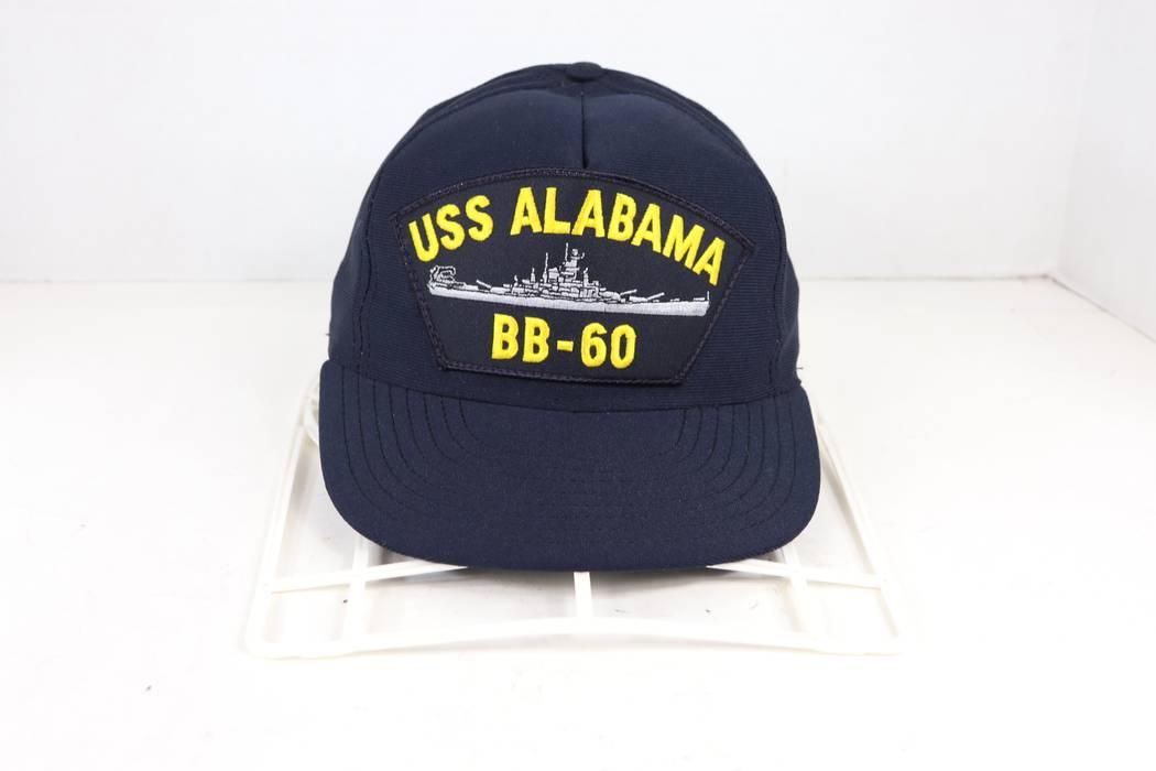 ... closeout vintage vintage north star uss alabama bb 60 military snapback hat  cap navy blue size 1f2e6cb26