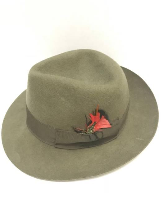 Japanese Brand Vintage Grand Monarch Wool Felt Fedora Hats Size one ... e22233a2eec