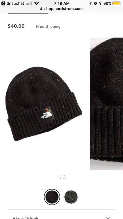 The North Face TNF x Nordstrom Salty Dog Beanie Size one size - Hats ... 30215eb75b6