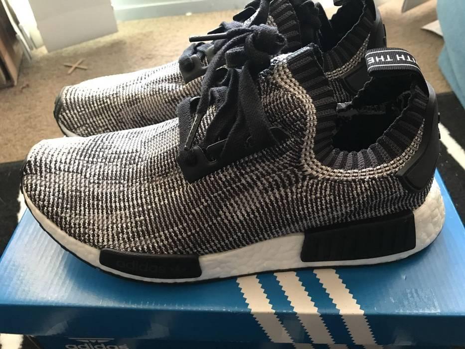 check out a9218 e1e5c Adidas. Adidas originals nmd black glitch ...