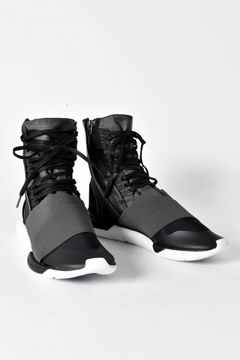 7f7a0d9223a ... Y-3 Qasa Boot - Charcoal Core Black Size US 7.5 EU 40 classic 7fae6 ...