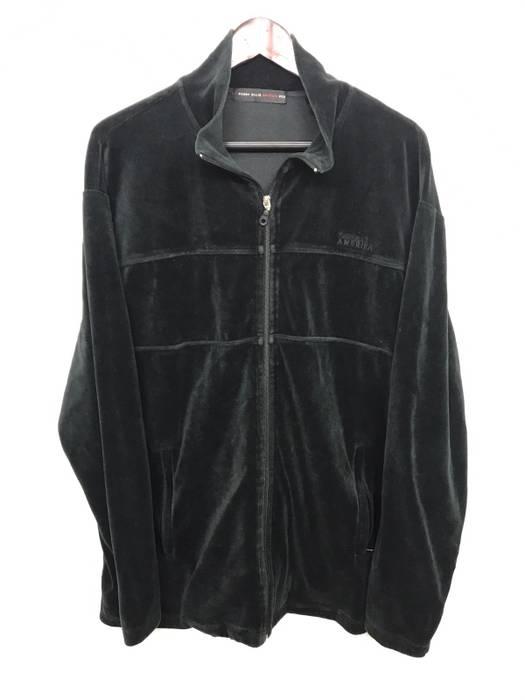 3f29136b43 Perry Ellis Vintage Perry Ellis Velour Jacket Size xxl - Light ...