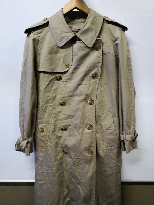 Burberry Prorsum. Last Drop! Burberry Mid-Length Cotton Gabardine Leather  Detail Heritage Trench Coat 6d17ed24462