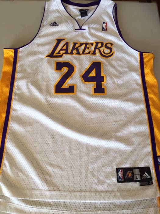 8e053bf8c Adidas Kobe Bryant Los Angles Lakers Basketball Jersey  24 All ...