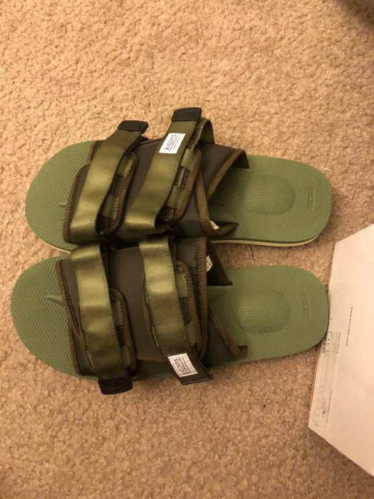 812584cd198 Suicoke Moto Cab Olive Green Size 10 - Sandals for Sale - Grailed
