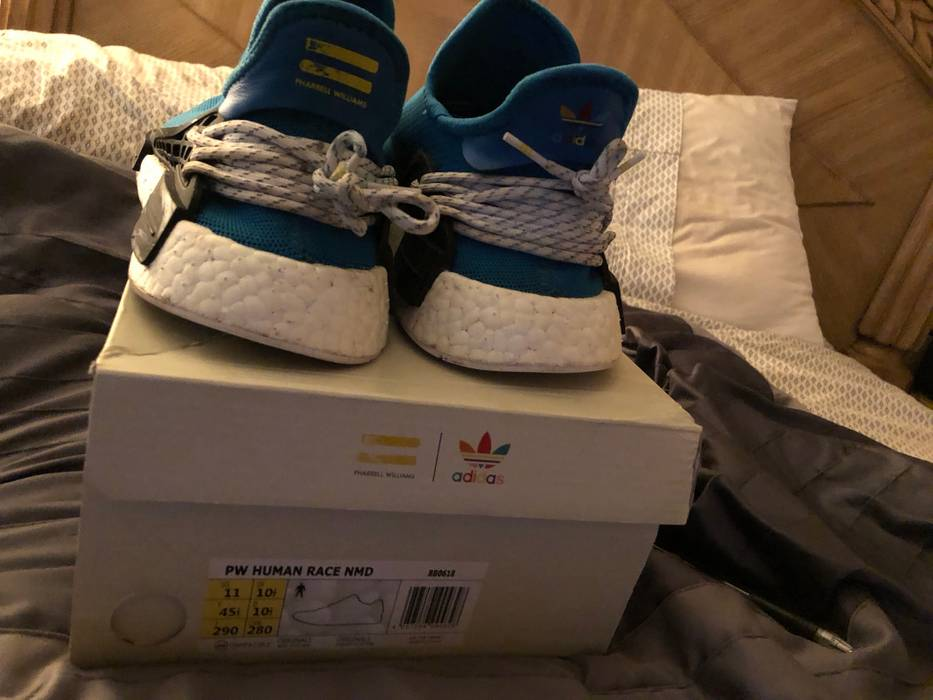 3abe8db85117 Adidas Blue Adidas Human Race NMD Size 11 - Low-Top Sneakers for ...