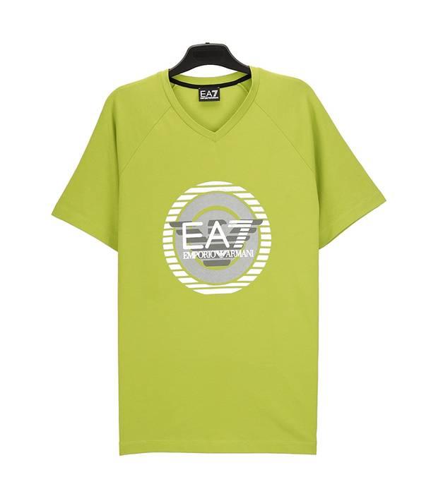 7695fc846 Emporio Armani Authentic Armani green shirt Size m - Short Sleeve T ...