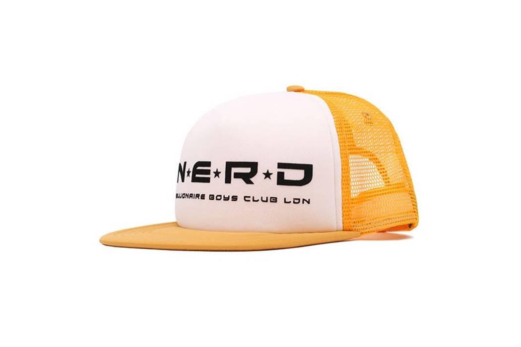 Billionaire Boys Club. CLASSIC  00S TRUCKER HAT WITH N.E.R.D X BILLIONAIRE  BOYS CLUB LONDON. Size  ONE SIZE 639d50f22265