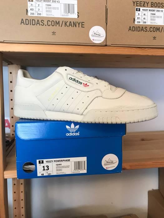 83f28035b58 Adidas Kanye West Size 13 Adidas Yeezy Powerphase Calabasas Cream White Og  Size US 13