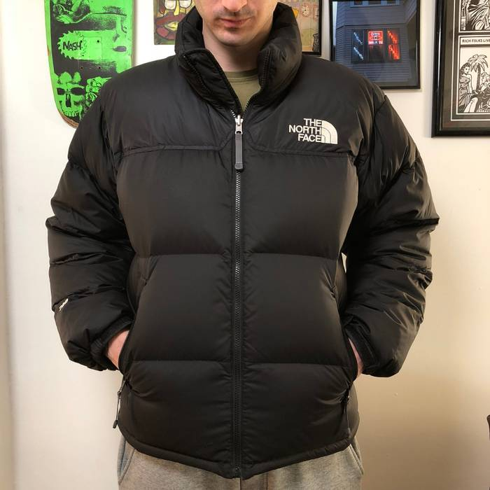 784fb228cb The North Face. 🔥🔥 The North Face 700 black goose down puffer jacket. Size   US M ...