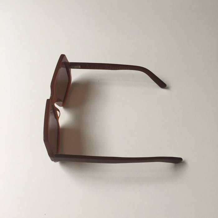 71779b0232 Acne Studios George Large Sunglasses Brown Size one size - Glasses ...
