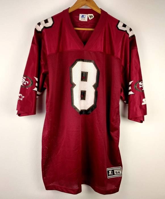 1ea5df439 Starter Vintage Starter NFL San Francisco 49 Ers  8 Steve Young American  Football Jersey Men s