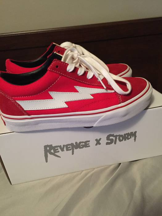 Ian Connor Revenge X Storm Vans Size 5 Size 6 - Low-Top Sneakers for ... e1a931d3e5