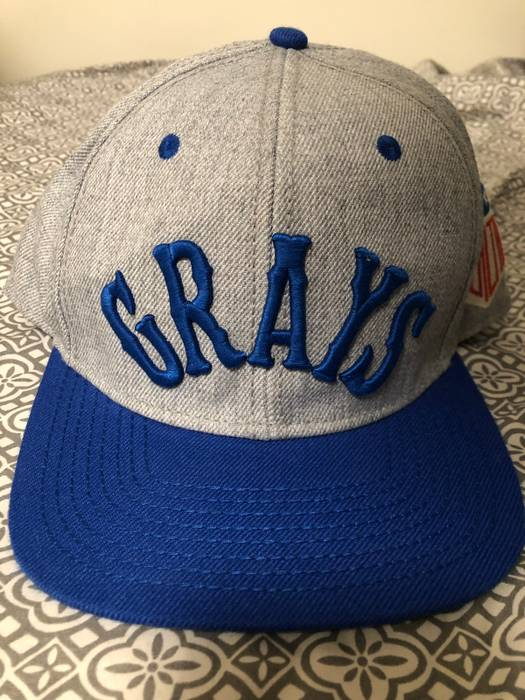 Authentic Negro Leagues Homestead Grays SnapBack Size one size ... c729f794d13
