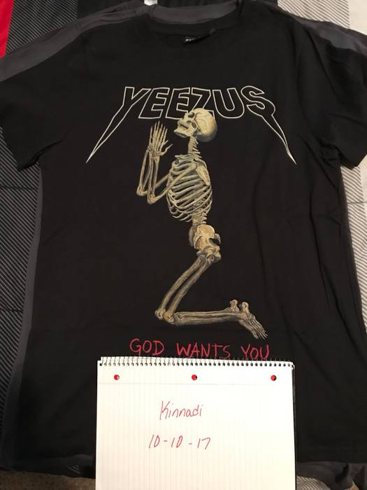 Kanye West Yeezus Tour Merch Urban Outfitters