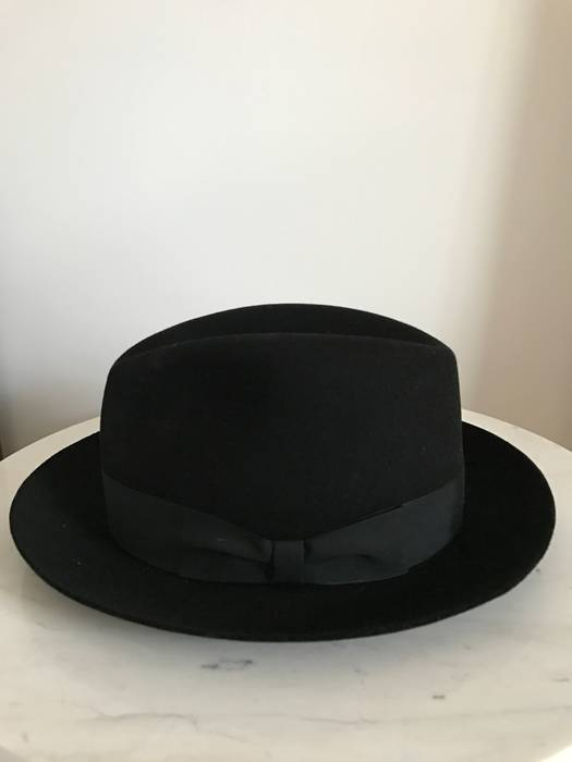 Will Leather Goods Size XL Black Fedora Size one size - Hats for ... 8485d28ff00e