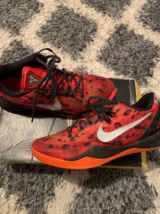 """3d1629d3c9b Nike Nike Kobe 8 """"Challenge Red"""" Size 10.5 - Low-Top Sneakers for ..."""
