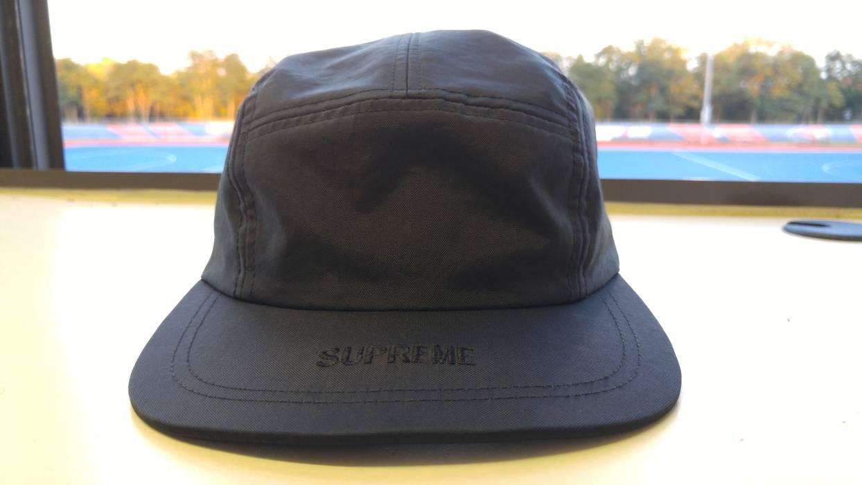 ab13d29d51d Supreme Visor Logo camp cap black Size one size - Hats for Sale ...