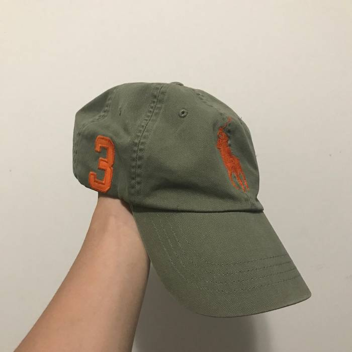7ae0d6238c3 Polo Ralph Lauren Military Green Orange Polo Hat Size one size ...