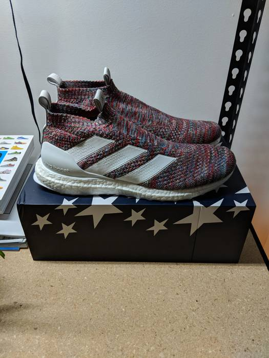 the best attitude dfce5 1d721 Adidas COPA ACE 16+ Purecontrol Ultra Boost Kith Golden Goal Size US 10  EU