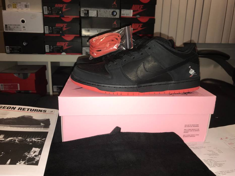 584f7a474429 Nike Nike Sb Dunk Low Pigeon Laser Date Edition 1 1xx  Nyc Only Exclusive