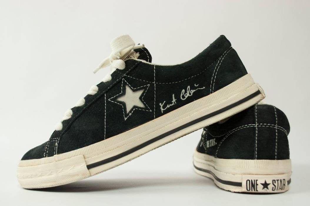 1cf3e6d3880a2d Converse Kurt Cobain X Converse One Star Size 7.5 - Low-Top Sneakers ...
