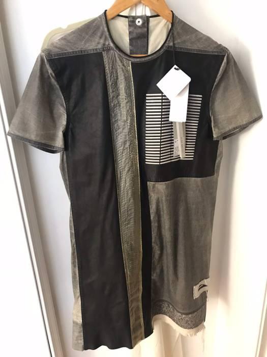 Rick Owens Tunic Multi Fabric Runway Shirt Size s - Short Sleeve T ... c9d21ccd2