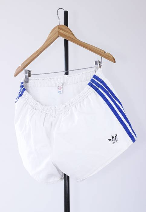 on sale f6612 d8915 Adidas 80s Vintage Mens ADIDAS Originals Running Marathon Shorts Size US 34   EU 50