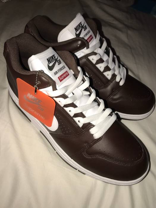 7bbba2348535 Supreme Supreme Nike SB Air Force 2 Size 11 - Low-Top Sneakers for ...