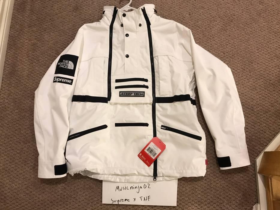 bda5e219b5 czech north face supreme jacket white 5a42f f279c