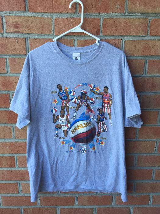 Harlem Globetrotters Harlem T-Shirt Size l - Sweatshirts   Hoodies ... bd46af2d8e5