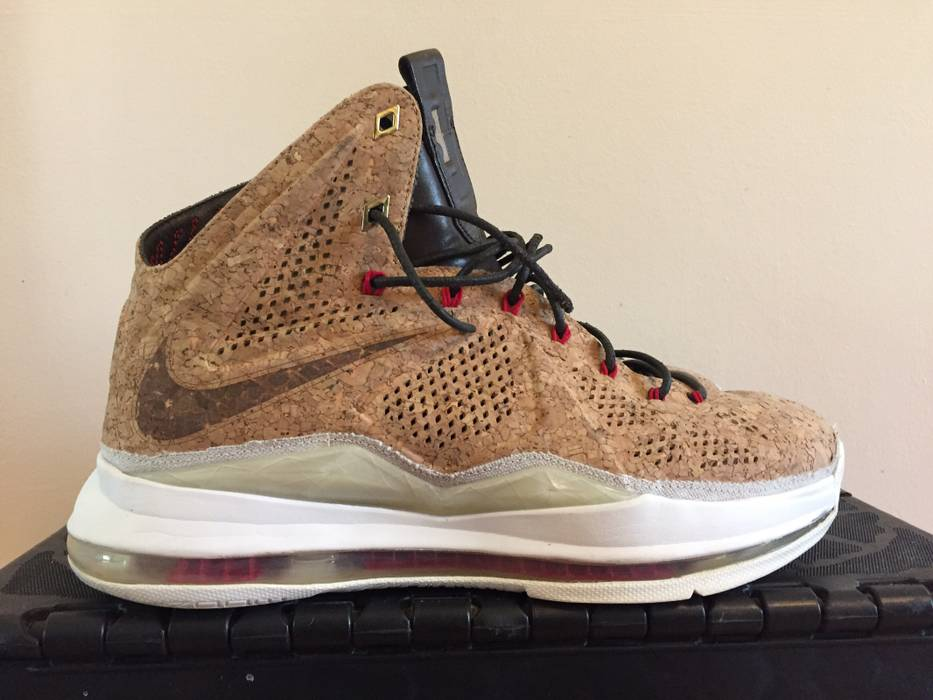 Nike Nike Lebron 10 Basketball Shoe Cork Size 10 - Hi-Top Sneakers ... 8faa0defa
