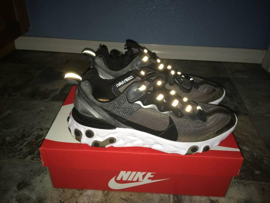 425353fd97dc Nike Nike React Element 87 Anthracite Black US 8.5 Size US 8.5   EU 41-