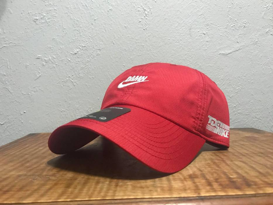 a9e67f95432 ... italy nike tde x nike swoosh logo hat red size one size 6061e af830