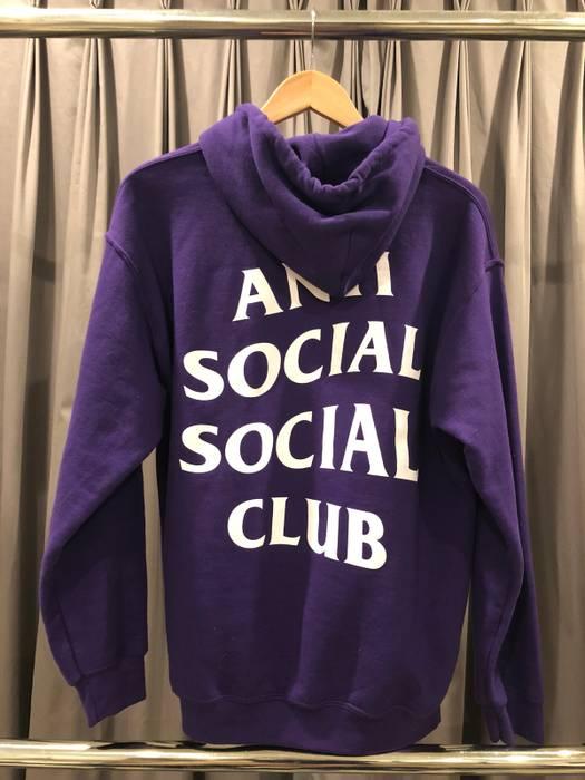 f2f35c79b26f Antisocial Social Club ASSC Purple Rain Hoodie Size m - Sweatshirts ...