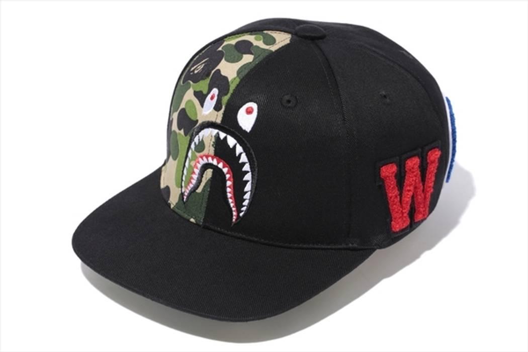 026bf3073687 Bape ABC Camo Shark Snapback Size one size - Hats for Sale - Grailed