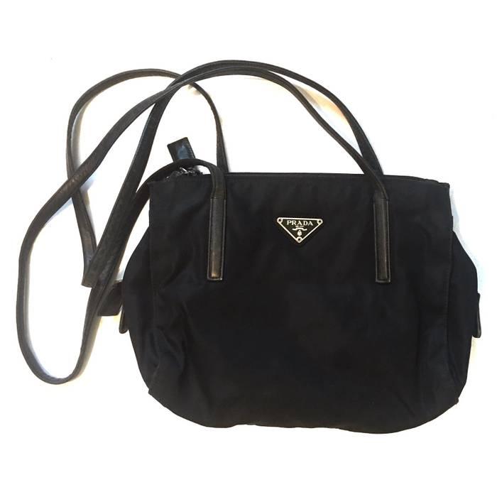 5fcdbb22db86 Prada VINTAGE Prada Milano Shoulder Bag Size one size - Bags ...