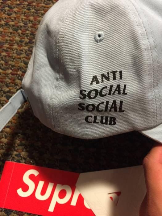 Antisocial Social Club Anti Social Club Hat Blue Size one size ... b0ca989fa28