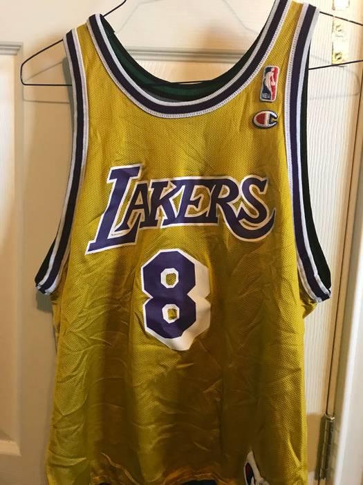 8435ce62a35 Champion. Champion Kobe Bryant Lakers   Kevin Garnett Timberwolves  Reverseable Jersey NBA