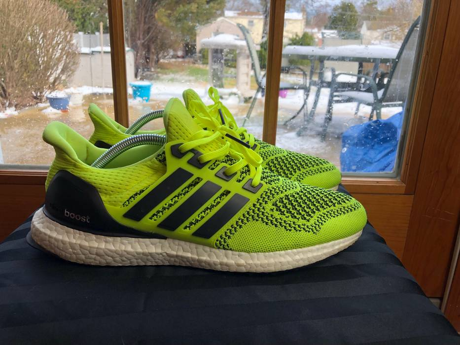 92e2ed8e1dd Adidas Ultra Boost 1.0 Solar Yellow S77414 Size 10 - Low-Top ...