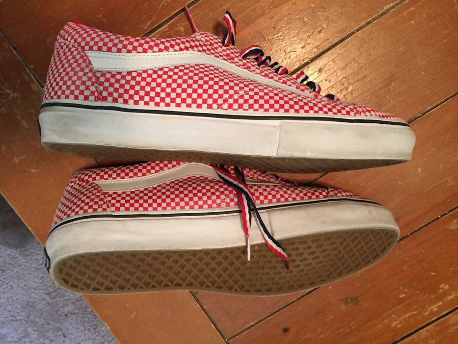b8d9ff57dc6004 Supreme Vans Checkered Old Skool Size 11 - for Sale - Grailed