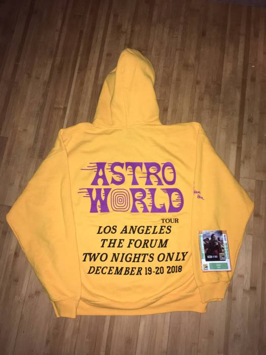 005cb3561 Travis Scott Astroworld LA Los Angeles Hoodie Size l - Sweatshirts ...