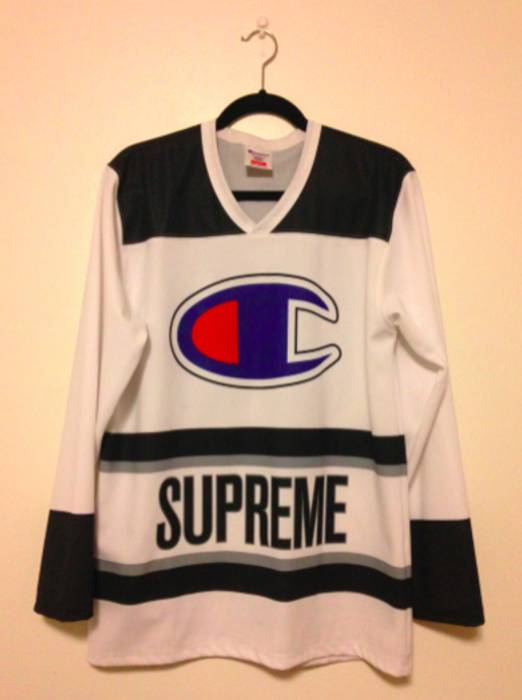 Supreme Supreme Champion Hockey Jersey Size m - Jerseys for Sale ... 3cc0082a3