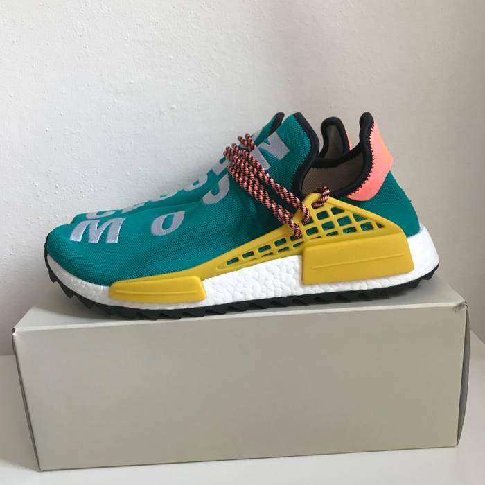 8a5d198fc Adidas adidas Hu NMD TR Human Race Pharrell Williams Sun Glow US11.5 Size US