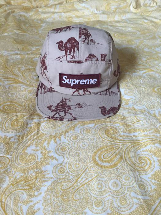 fffd373f Supreme Supreme camel camp cap Size one size - Hats for Sale - Grailed